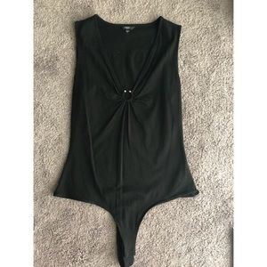 Guess Black Bodysuit Small